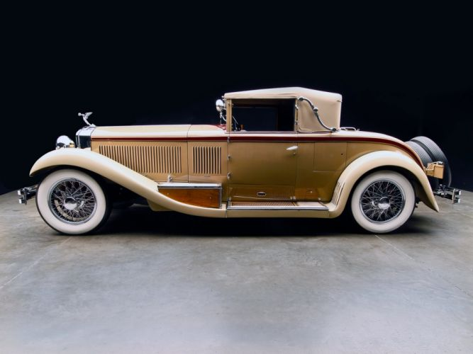 Isotta Fraschini Tipo 8A Coupe Cabriolet by Castagna classic cars 1928 wallpaper