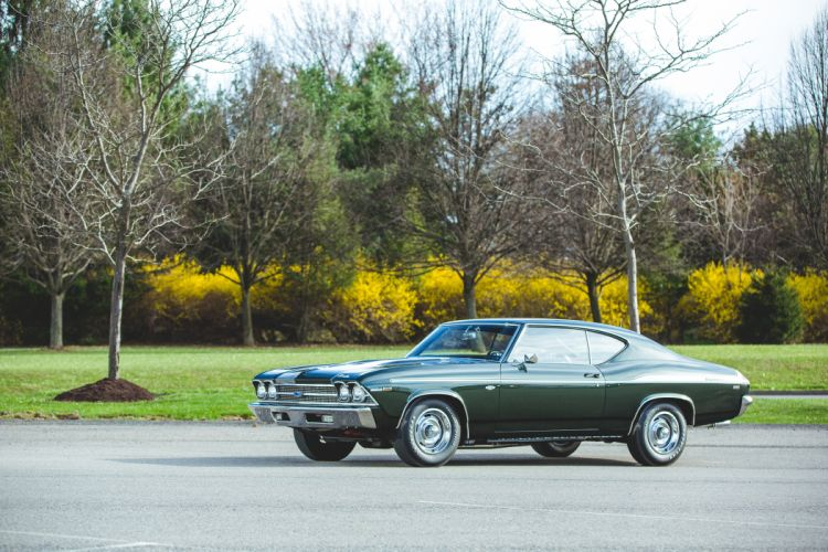 1969 Chevrolet Chevelle 427 Yenko SC Muscle Classic Old USA -15 wallpaper