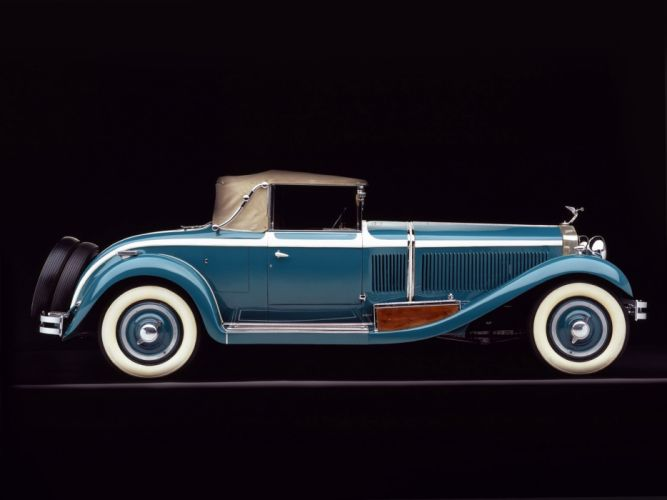 Isotta Fraschini Tipo 8A Coupe Cabriolet by Castagna classic cars 1929 wallpaper