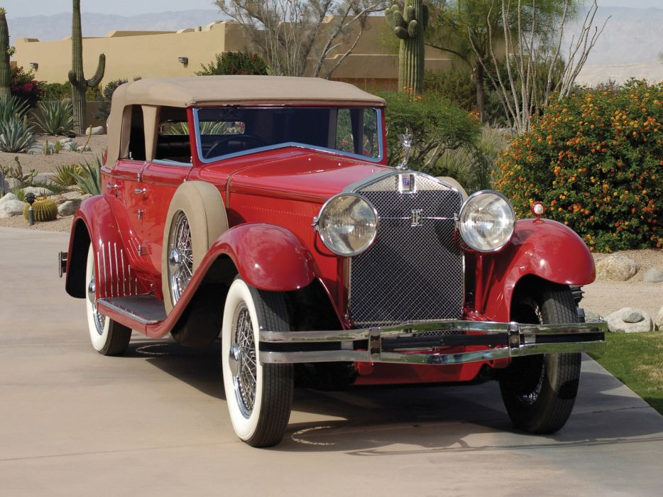 Isotta Fraschini Tipo 8A Convertible Sedan by Castagna classic cars 1930 wallpaper