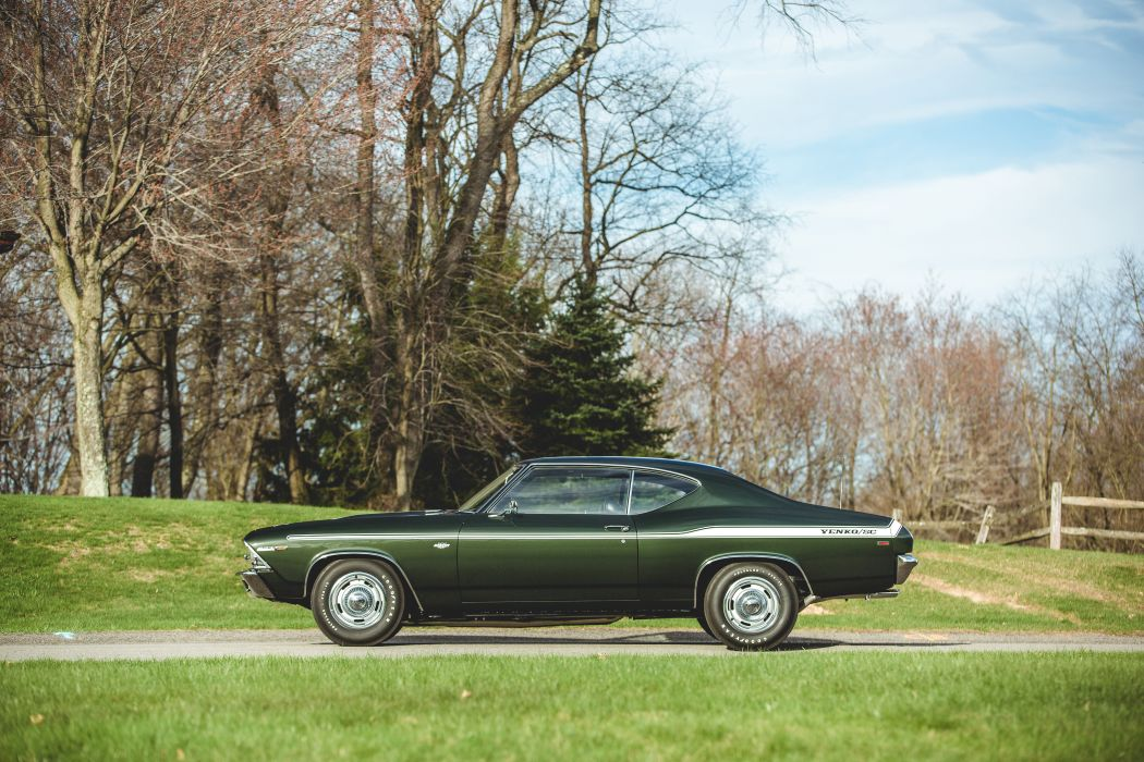 1969 Chevrolet Chevelle 427 Yenko SC Muscle Classic Old USA -20 wallpaper