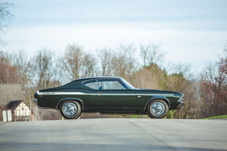 1969 Chevrolet Chevelle 427 Yenko SC Muscle Classic Old USA -24 wallpaper