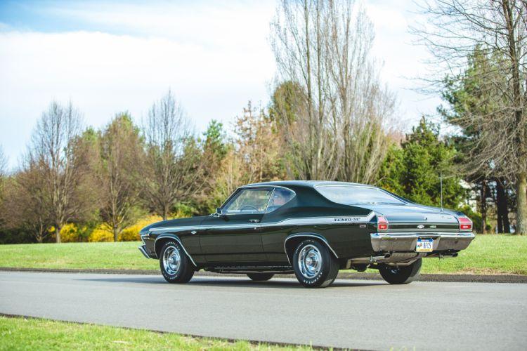 1969 Chevrolet Chevelle 427 Yenko SC Muscle Classic Old USA -25 wallpaper