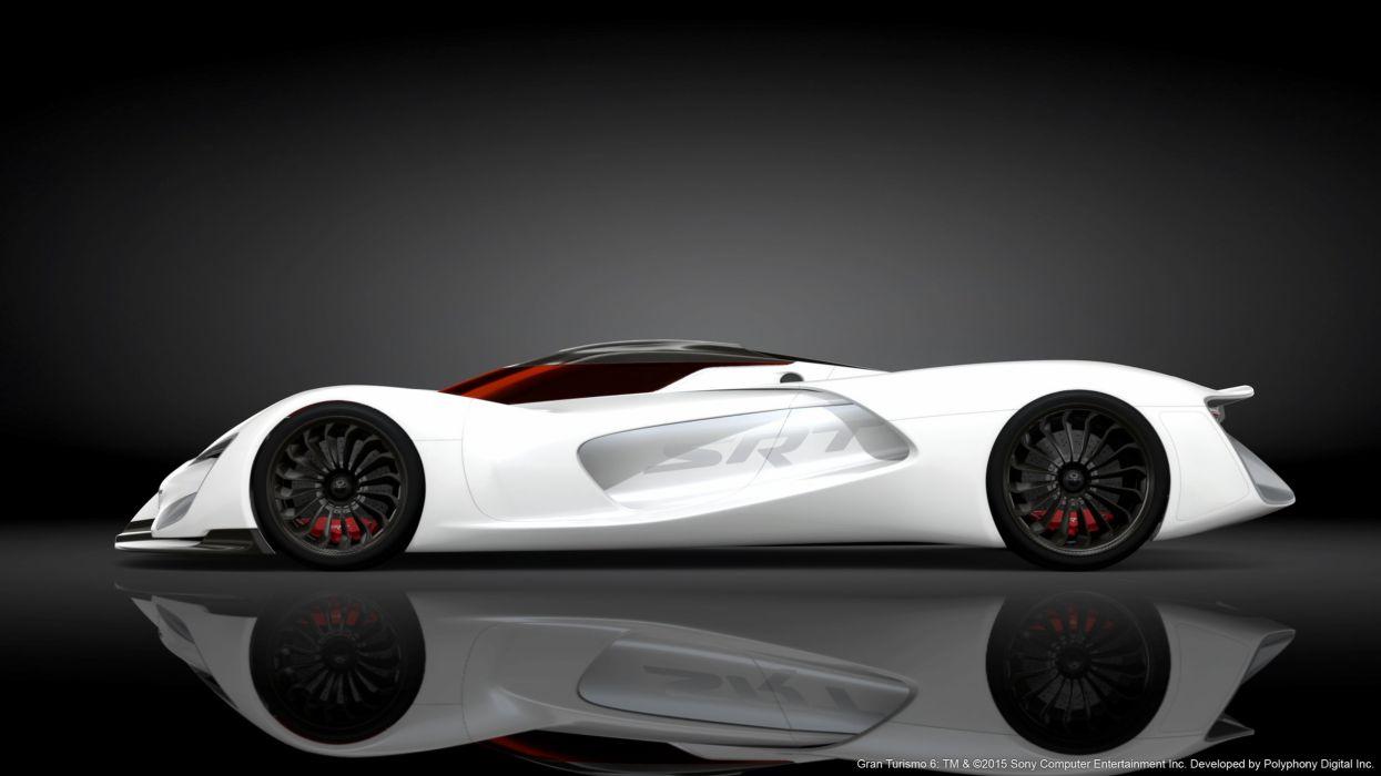 SRT Tomahawk Vision Gran Turismo cars supercars concept videogames 2015 wallpaper