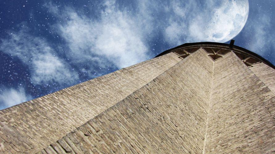 art sky toghrol tower history old wallpaper