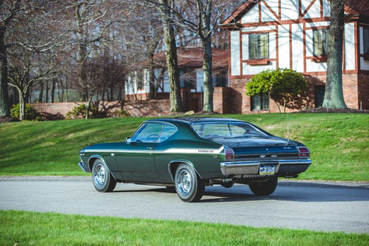1969 Chevrolet Chevelle 427 Yenko SC Muscle Classic Old USA -31 wallpaper