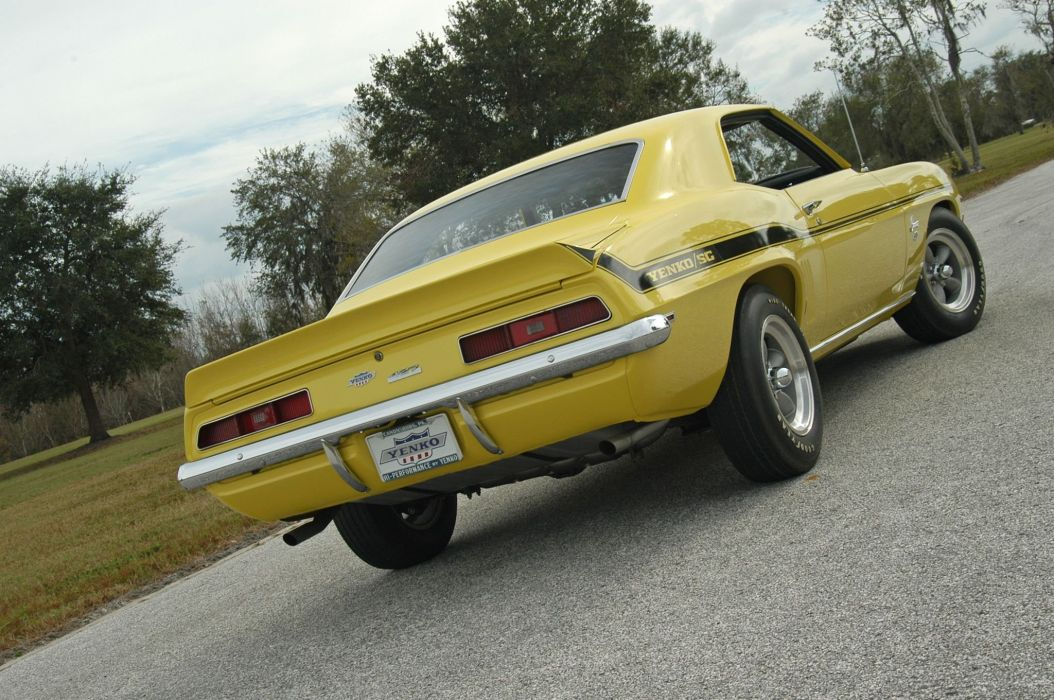 1969 Chevrolet Yenko Camaro Muscle Clessic Old Original USA -05 wallpaper