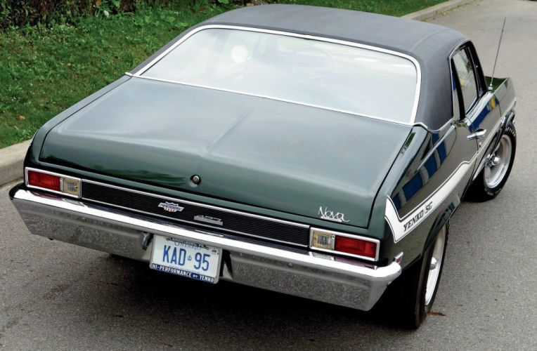 1969 Chevrolet Yenko-SC Nova Muscle Classic Old Original USA--02 wallpaper