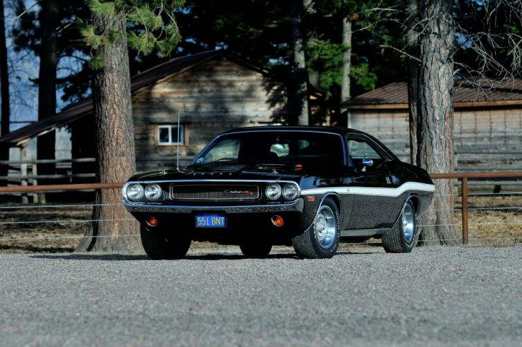1970 Dodge Challenger RT 440 Six Pack Muscle Classic Old Original USA -01 wallpaper