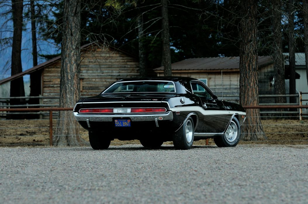 1970 Dodge Challenger RT 440 Six Pack Muscle Classic Old Original USA -03 wallpaper