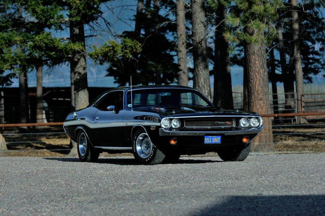 1970 Dodge Challenger RT 440 Six Pack Muscle Classic Old Original USA -07 wallpaper