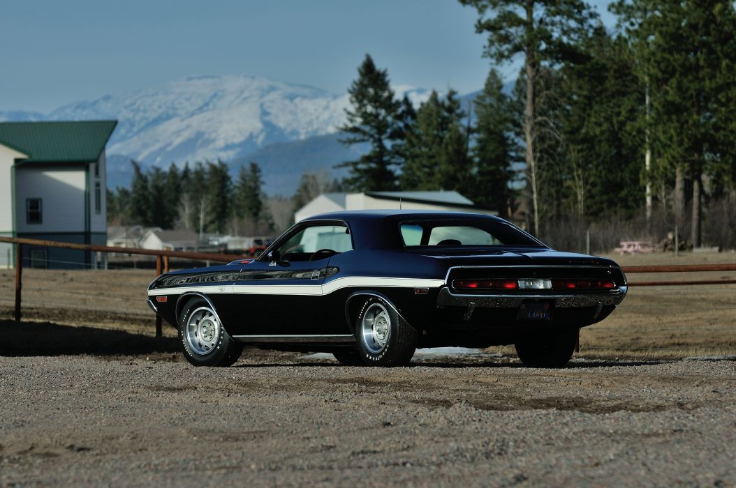 1970 Dodge Challenger RT 440 Six Pack Muscle Classic Old Original USA -08 wallpaper
