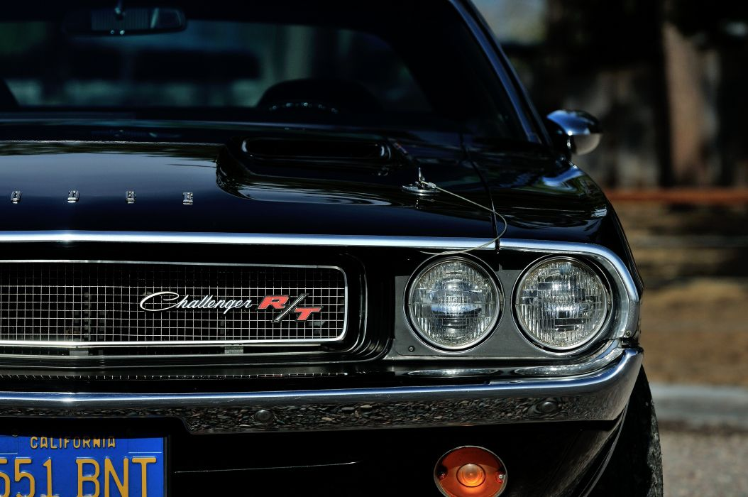 1970 Dodge Challenger RT 440 Six Pack Muscle Classic Old Original USA -13 wallpaper