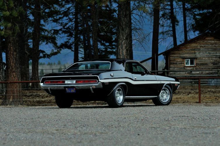 1970 Dodge Challenger RT 440 Six Pack Muscle Classic Old Original USA -17 wallpaper