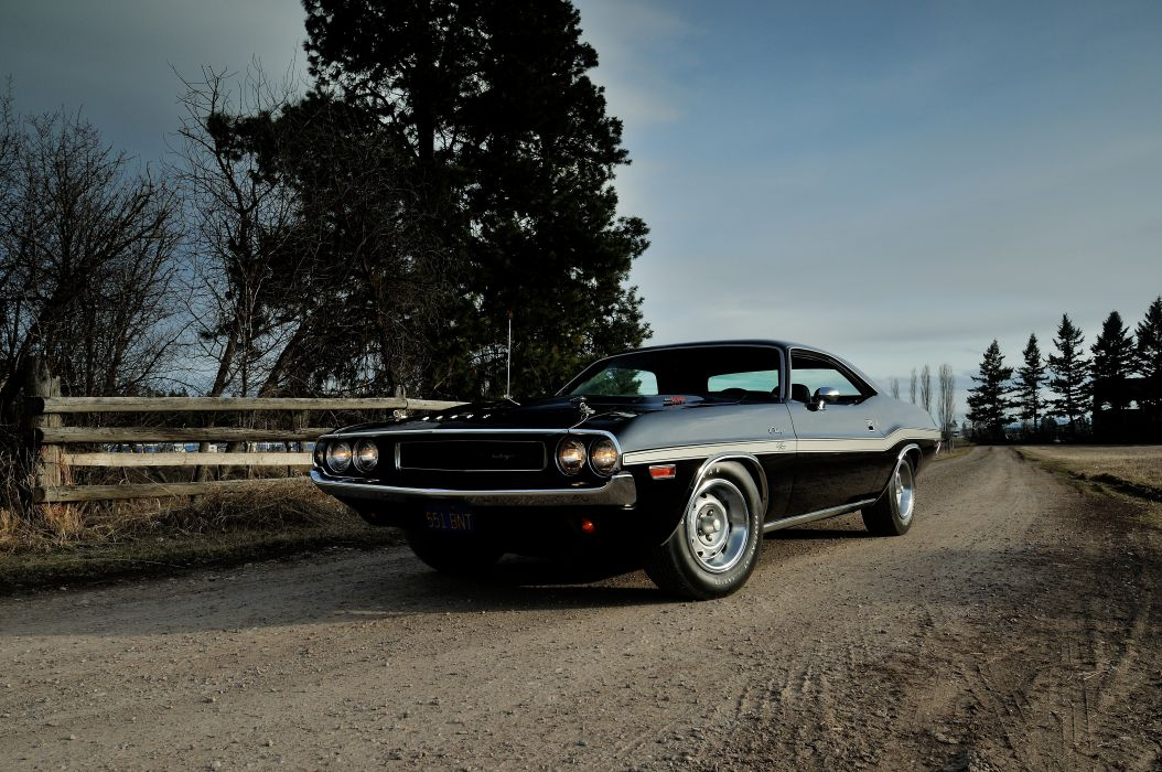 1970 Dodge Challenger RT 440 Six Pack Muscle Classic Old Original USA -19 wallpaper