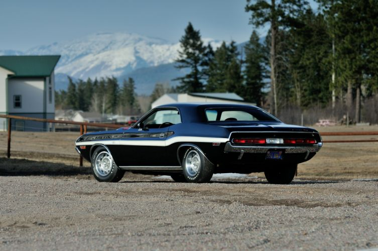 1970 Dodge Challenger RT 440 Six Pack Muscle Classic Old Original USA -18 wallpaper