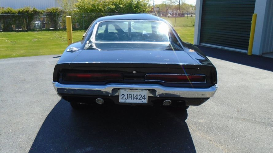 1970 Dodge Charger Fast And Furious Don crashed Muscle USA -06 wallpaper