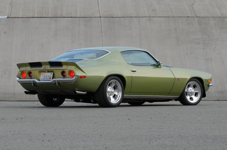 1971 Chevrolet Chevy Camaro Z28 Pro Touring Super Street Muscle USA -03 wallpaper