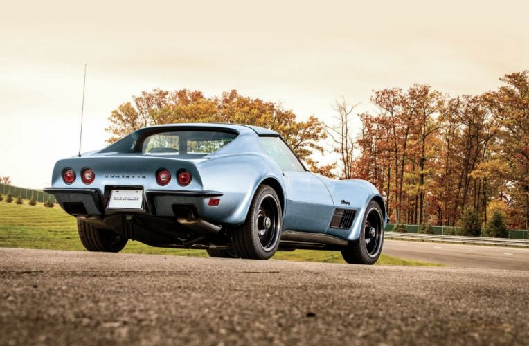 1971 Chevrolet Chevy Corvette Stingray Pro Touring Super Street Muscle USA -01 wallpaper