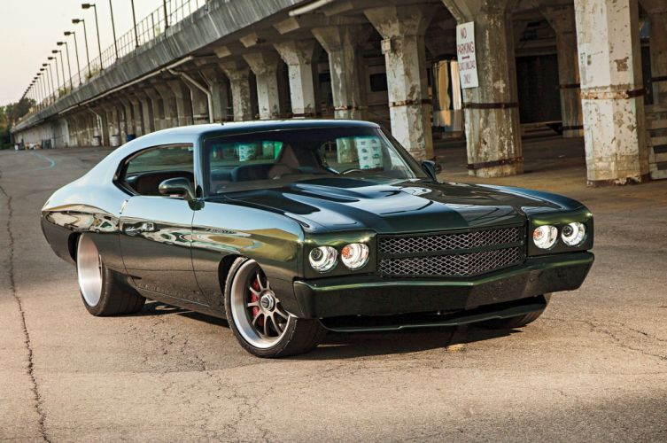 1971 Chevrolet Chevy Chevelle Muscle Pro Touring Super Street USA -01 wallpaper