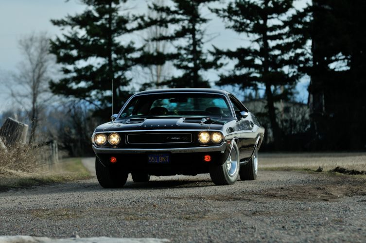 1970 Dodge Challenger RT 440 Six Pack Muscle Classic Old Original USA -20 wallpaper