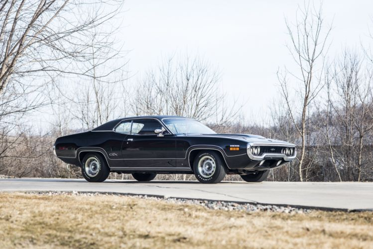 1971 Plymouth Hemi GTX Muscle Classic Old original USA -06 wallpaper