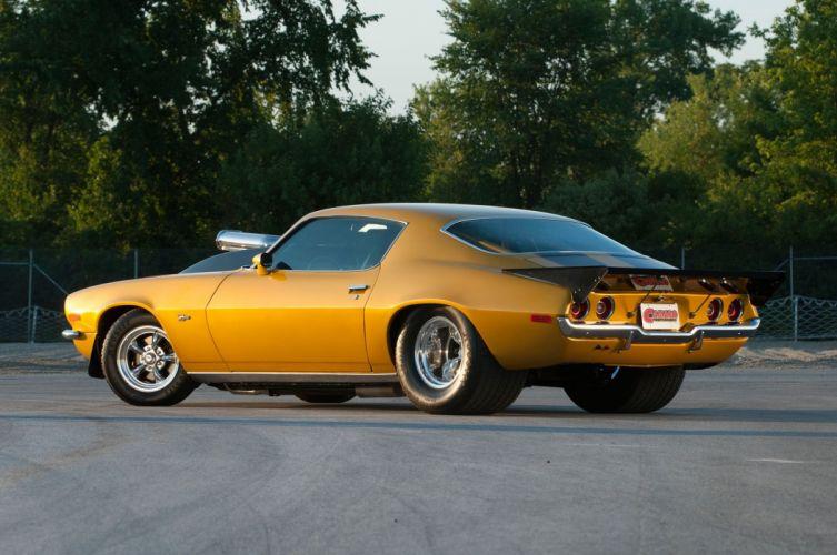 1972 Chevrolet Chevy Camaro Z28 Pro Super Street Muscle Drag USA -04 wallpaper
