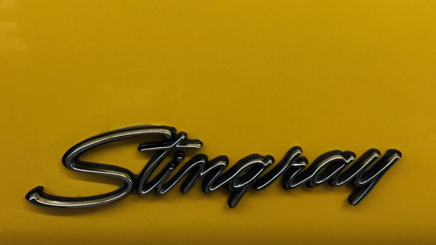 1973 Chevrolet Corvette Stingray Muscle Classic Old Original USA -04 wallpaper