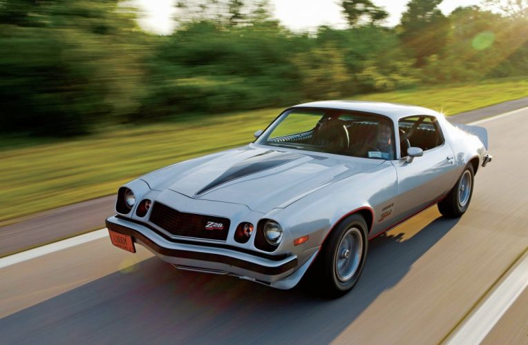 1977 Chevrolet Chevy Camaro Z28 Muscle Classic Old Original USA -01 wallpaper