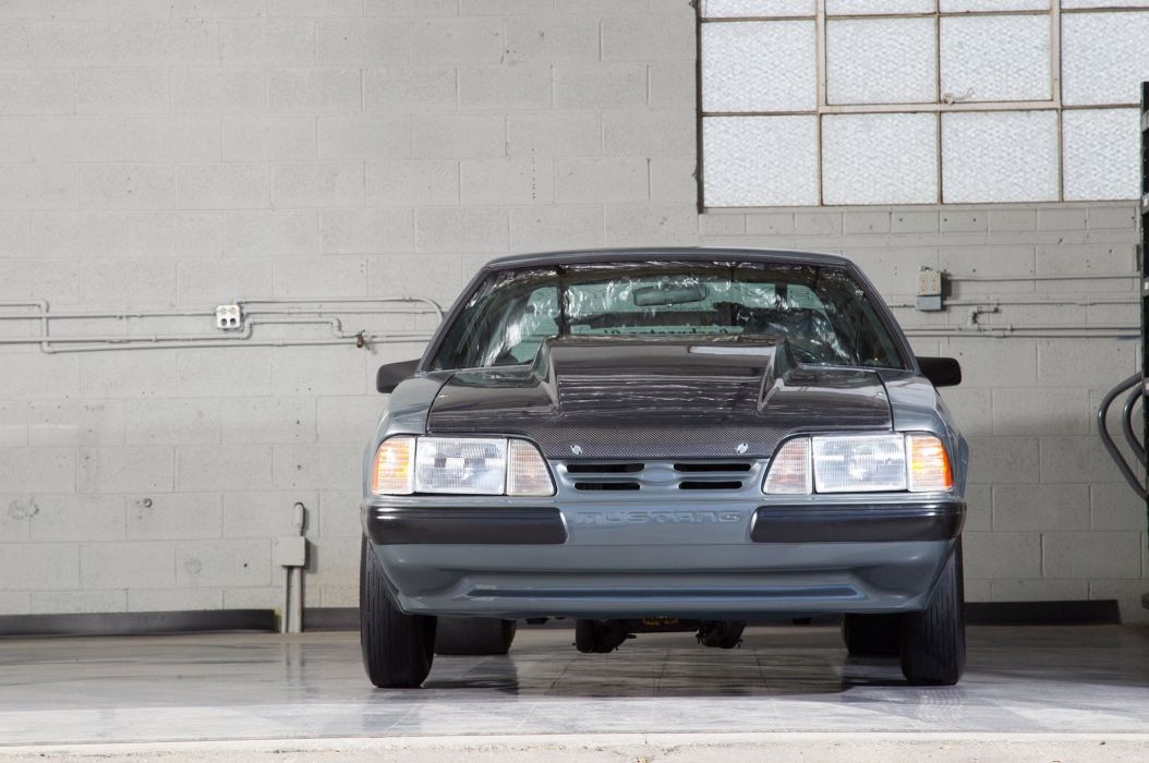 1987 Ford Mustang Drag Street Super Outlaw USA -01 wallpaper