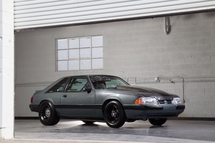 1987 Ford Mustang Drag Street Super Outlaw USA -03 wallpaper