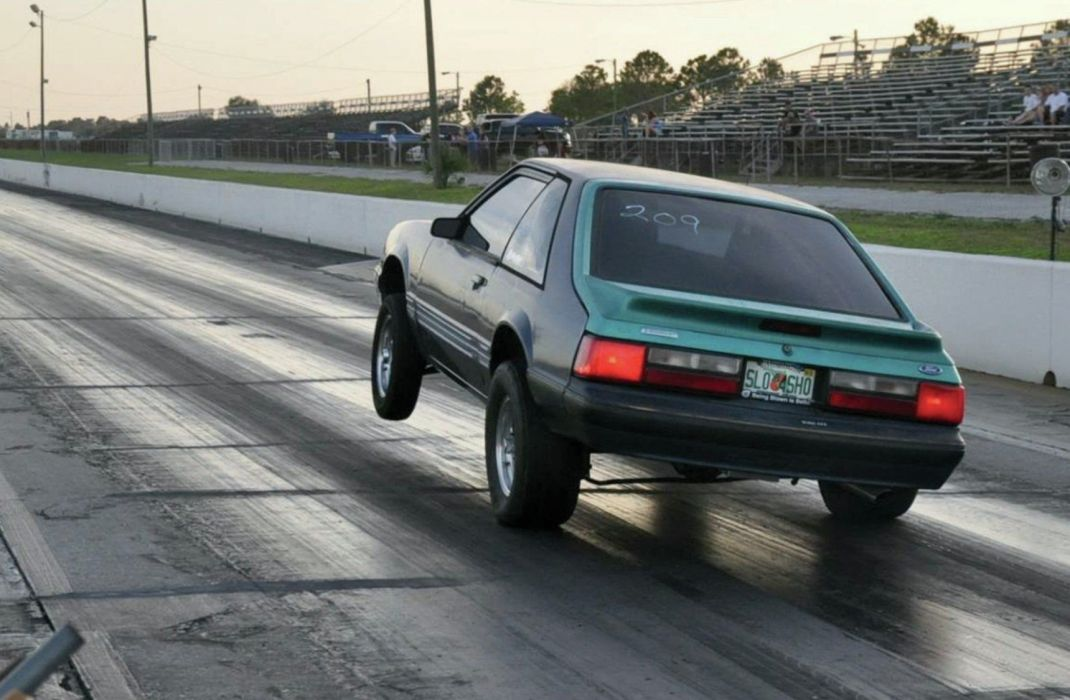 1987 Ford Mustang Drag Street Super Outlaw USA -08 wallpaper