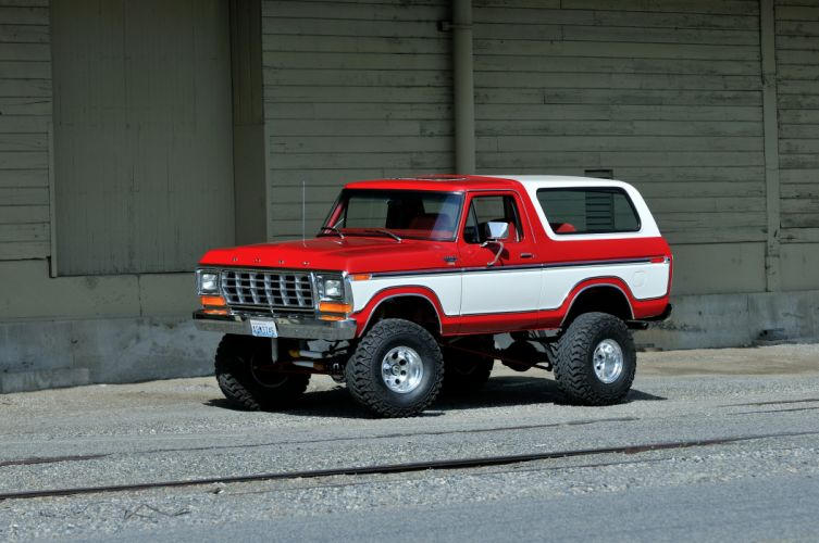 1979 Ford Bronco Off Road Four Wheel Drive USA -01 wallpaper