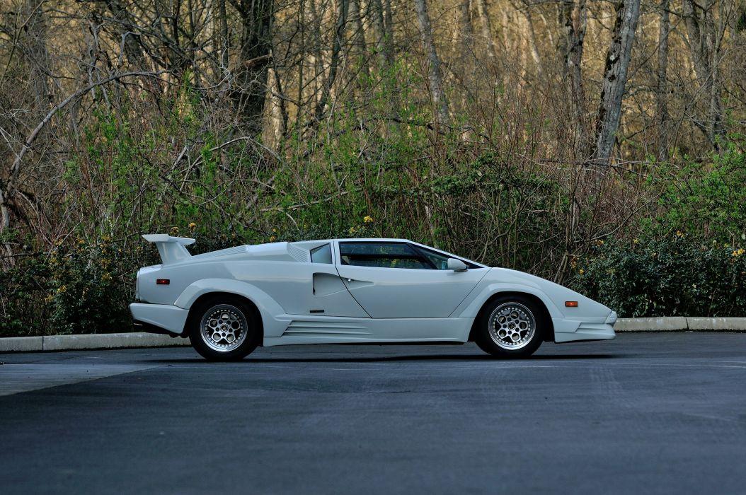 1989 Lamborghini Countach 25th Anniversary Supercar Exotic Italy 02