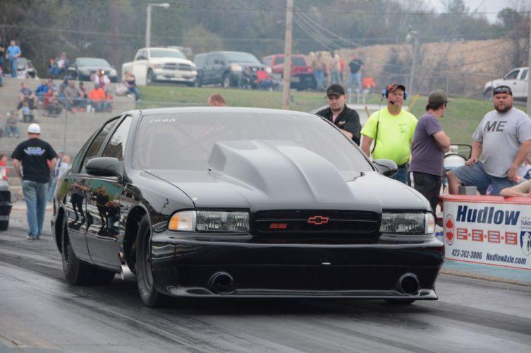 1996 Chevrolet Impala SS Outlaw Drag Dragster Race USA-12 wallpaper