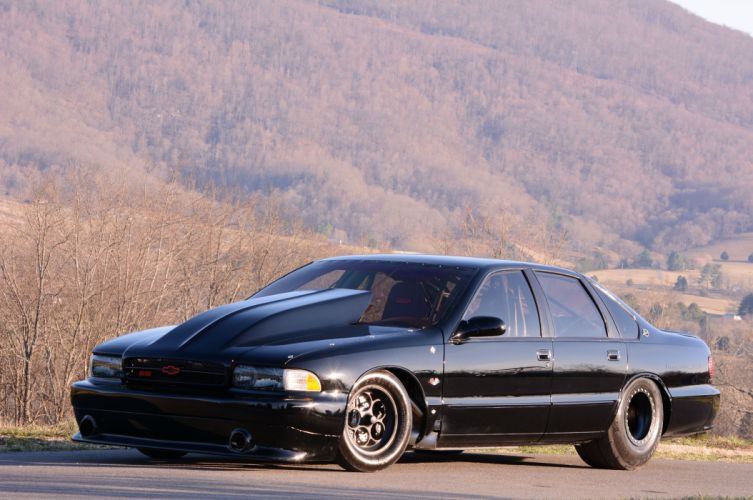 1996 Chevrolet Impala SS Outlaw Drag Dragster Race USA-14 wallpaper