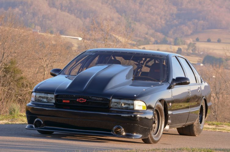1996 Chevrolet Impala SS Outlaw Drag Dragster Race USA-17 wallpaper