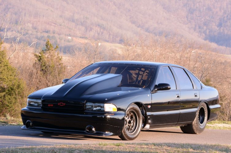 1996 Chevrolet Impala SS Outlaw Drag Dragster Race USA-16 wallpaper