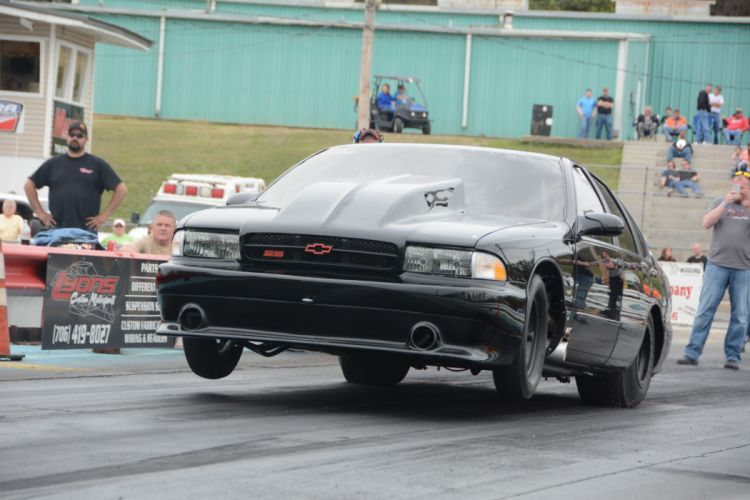 1996 Chevrolet Impala SS Outlaw Drag Dragster Race Wheelie USA-08 wallpaper