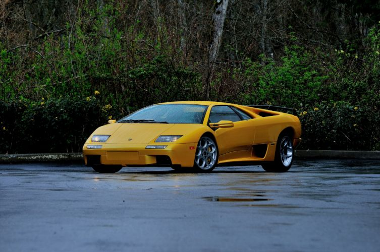 2001 Lamborghini Diablo VT Supercar Exotic Italy -01 wallpaper