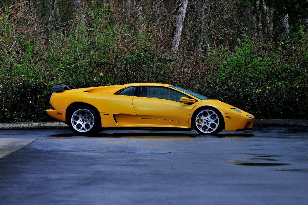 2001 Lamborghini Diablo Vt Supercar Exotic Italy 02 Wallpaper