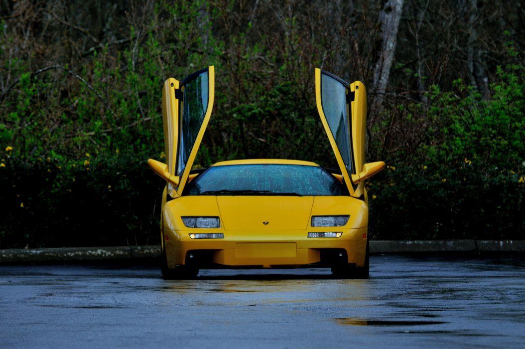 2001 Lamborghini Diablo VT Supercar Exotic Italy -08 wallpaper