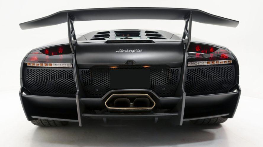2010 Lamborghini Murcielago SV Supercar Exotic Italy -07 wallpaper