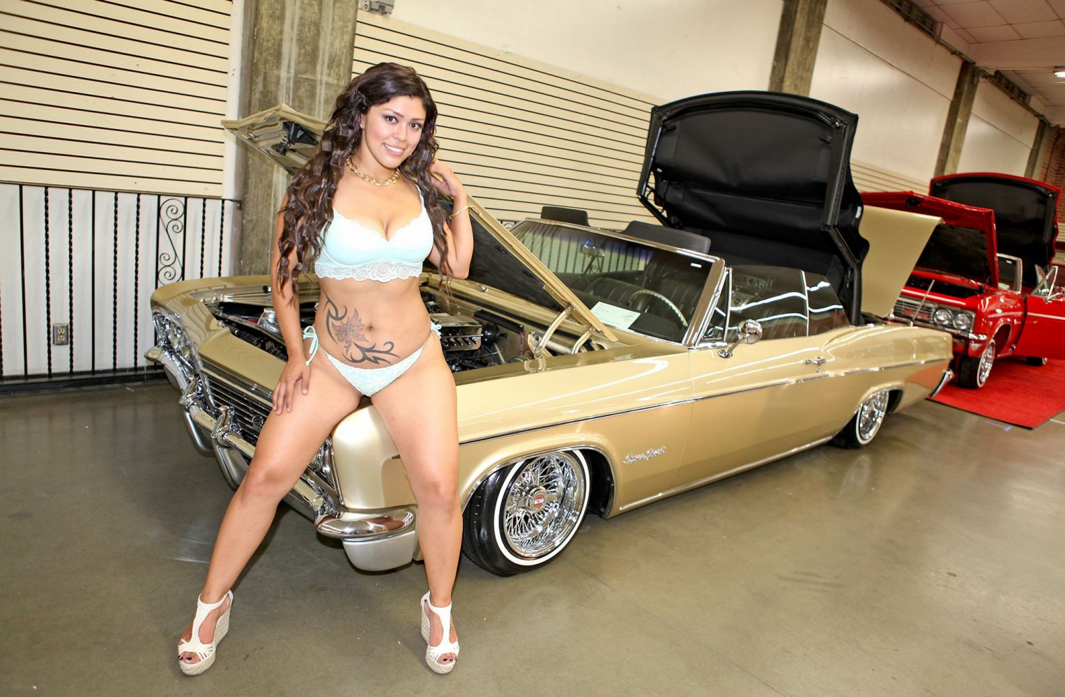 Topless lowrider chick 14