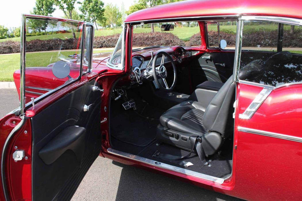 1956 Chevrolet LS1 hot rod rods retro custom d wallpaper