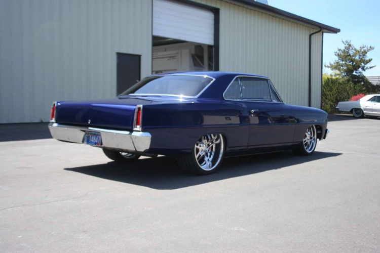 1966 Chevy Nova Pro Touring classic muscle hot rod rods d wallpaper