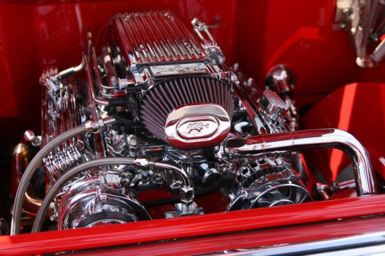 1957 Chevrolet Belair hot rod rods custom f wallpaper