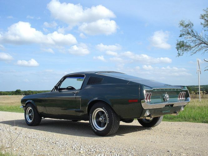 1968 Mustang S-code 390 Fastback muscle classic hot rod rods ford d wallpaper