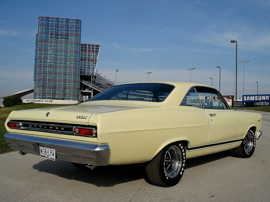 1966 Mercury Cyclone G-T muscle classic d wallpaper