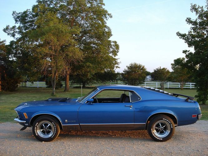 1970 Ford Mustang T-5 Mach-1 muscle classic d wallpaper